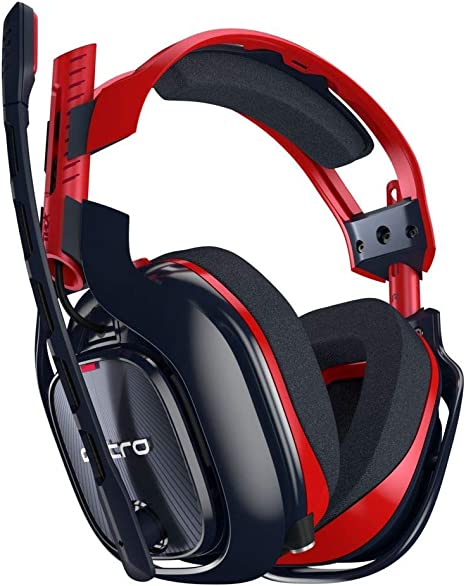 ASTRO Gaming A40 TR X Edition Wired Gaming Headset for PC, Xbox and PlayStation RedBlue