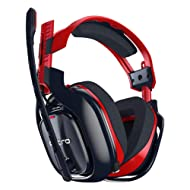 ASTRO Gaming A40 TR X Edition PC-Headset (kabelgebunden, auch kompatibel mit Mac, PlayStation 4, Xbox One) rot/blau