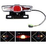Electric Bicycle Rear Light E Bike Light LED eBike Tail Light Warning Light-SL