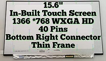 "15.6/"" HP Pavilion 15-CS0072WM 15-CS0012CL HD LCD Touch Screen Digitizer Assembly"