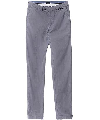 e1bda8d6b6 Hugo Boss Black Crigan 2 Pantalons Bleu Foncé  Amazon.fr  Vêtements ...