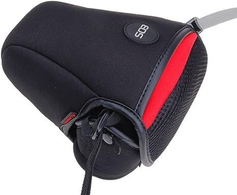 1pcs S Tamaño suave triángulo bolsa de cámara DSLR SLR maletero ...