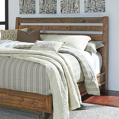 Signature Design by Ashley B663-57 Dondie Sleigh Headboard, (Wood Sleigh Headboard)