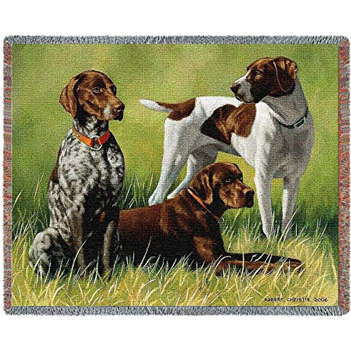 Pure Country 3299-T Variations on a Breed Tap Pet Blanket, Various Blended Colorways, 53 by 70-Inch