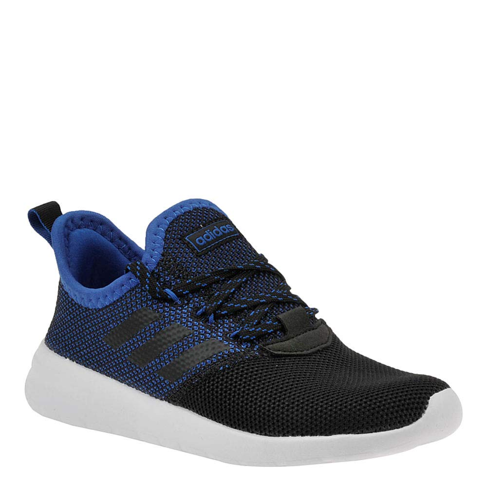 adidas Lite Racer Reborn K Boys' Toddler-Youth Sneaker 7 M US Big Kid Black-Blue-White
