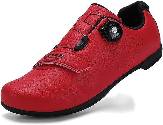 FJJLOVE Ciclismo Zapatos, Zapatos Profesional Bicicleta De Montaña ...