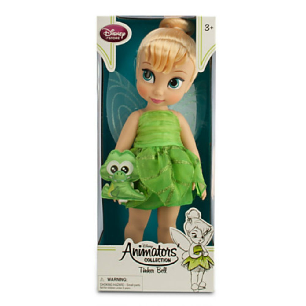 Disney Animators Collection Tinker Bell Doll with Baby Croc 16 Doll by Disney The Disney Store
