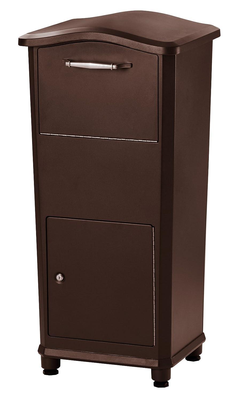 Architectural Mailboxes 6900RZ Elephantrunk Parcel Drop Box, Extra Large,  Rubbed Bronze