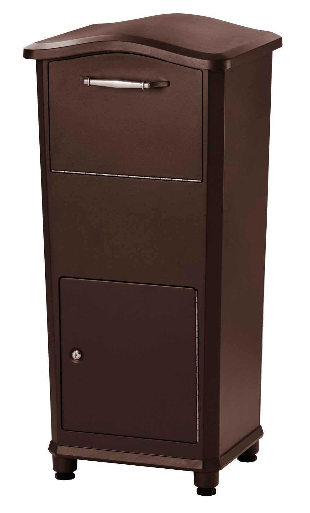 Architectural Mailboxes 6900RZ Elephantrunk Parcel Drop Box, Oil Rubbed Bronze by ARCHITECTURAL MAILBOXES