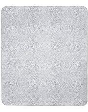 Wenko voor alle warmtebronnen, gehard glas, 50 x 1,8-4,5 x 56 cm, transparant, glazen afdekplaat