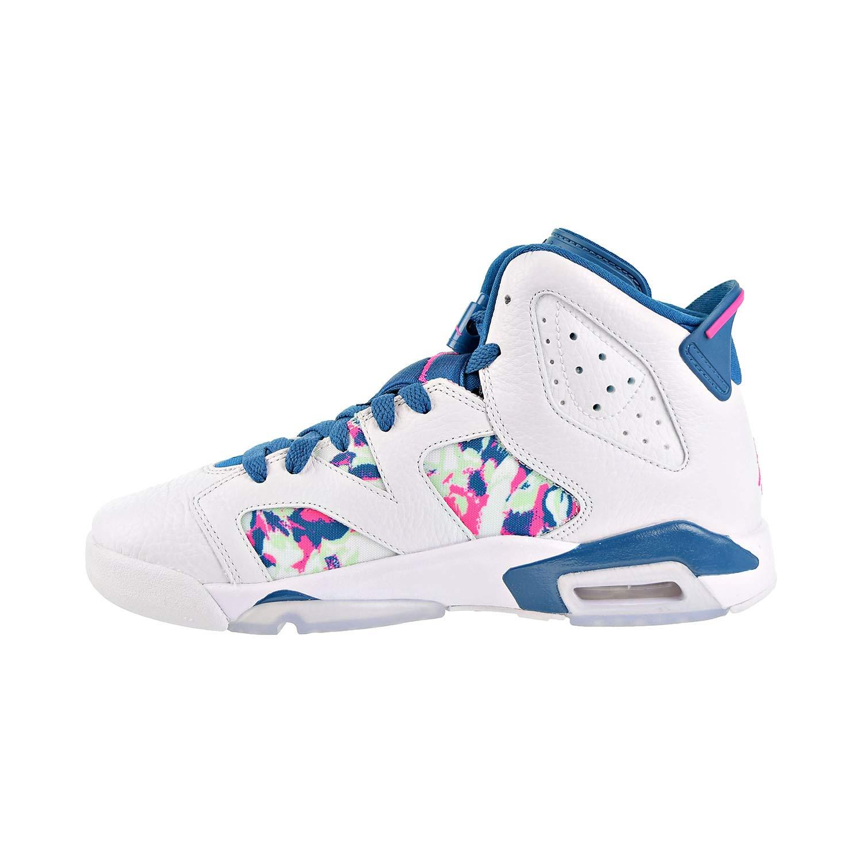 Jordan Air 6 Retro Big Kids Shoes White//Laser Fuchsia 543390-153