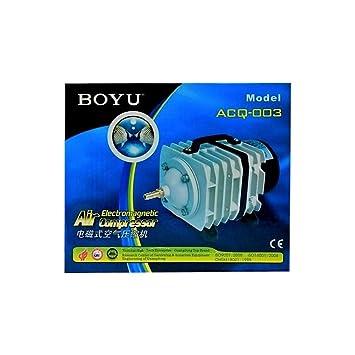 tradeshoptraesio® - Aireador aireador Compresor Bomba Aire membrana Acuario acquacoltura acq-003: Amazon.es: Productos para mascotas
