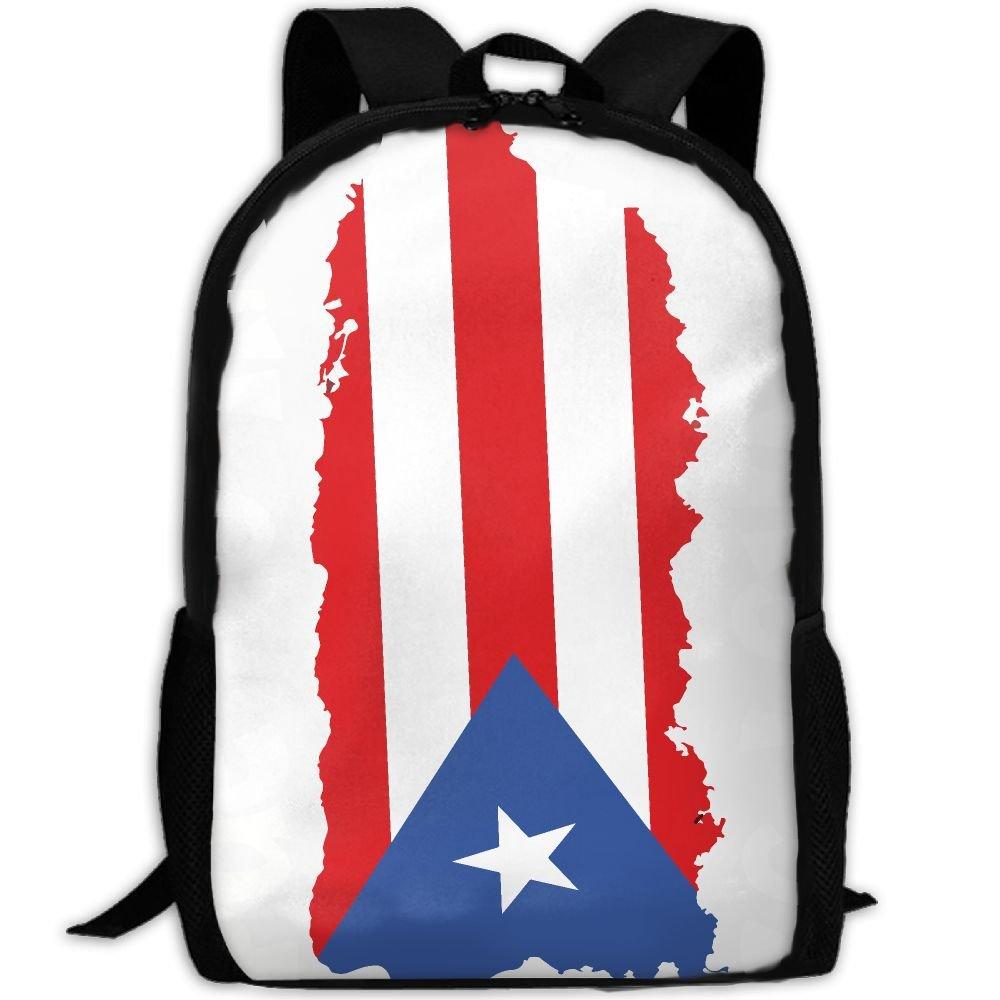 e3283a5c16b ZQBAAD Puerto Rico Se Levanta Luxury Print Men And Women s Travel Knapsack  hot sale 2017