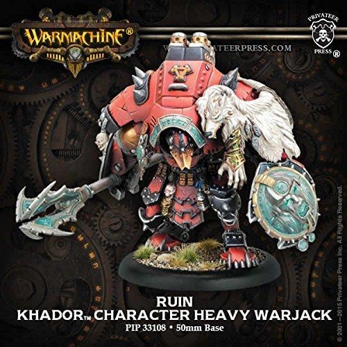 PIP33108 Khador: Ruin Character Heavy Warjack by Privateer Press Miniatures by Privateer Press Miniatures