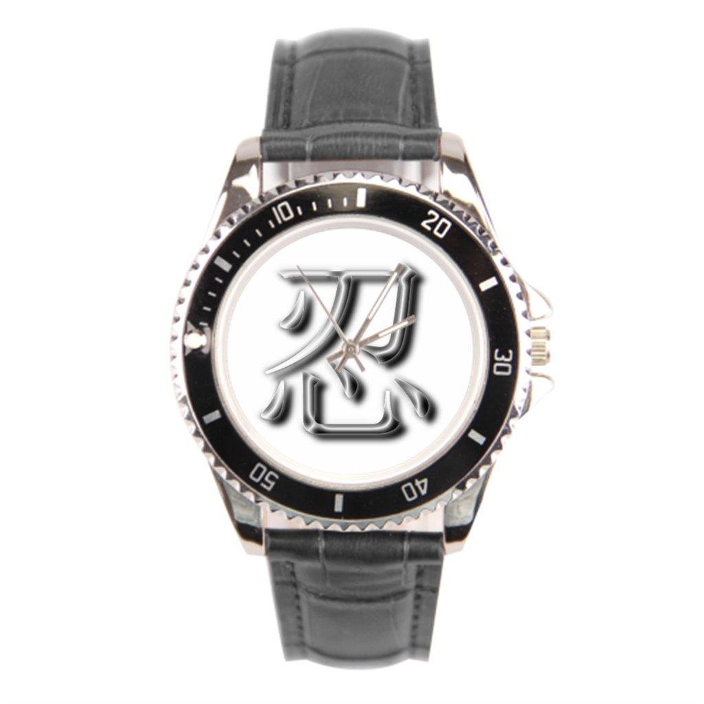 x-christy Nin reloj con banda de cuero Ninja hombres reloj ...