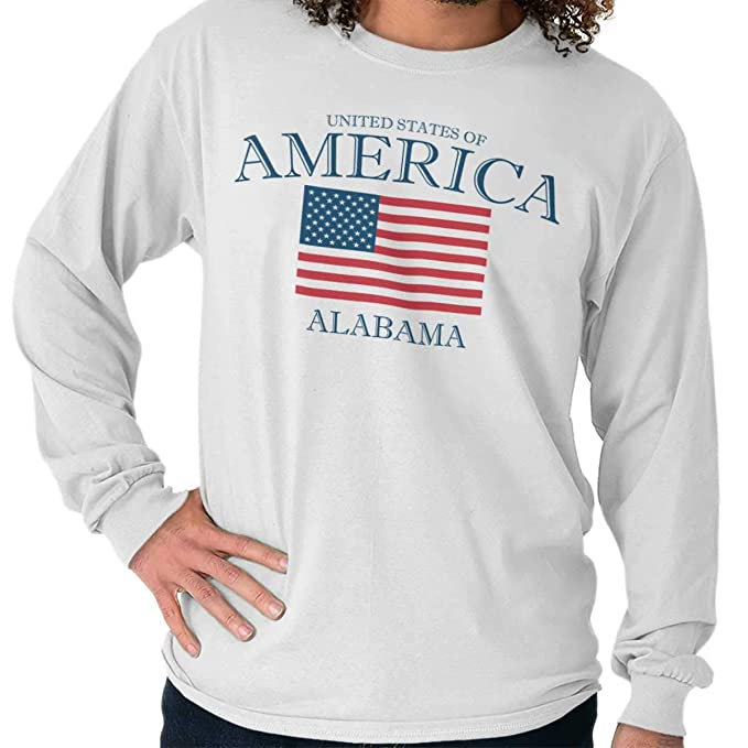 Amazon.com: Alabama USA Classic American Patriotic Flag Long ...