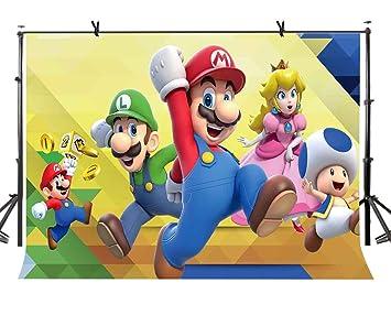 Lylycty 2 1 X 1 5 M Classique Mario Fond Jeu Classique Personnage