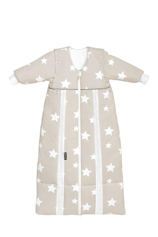 Odenwälder Thinsulate Schlafsack mit Ärmeln Weiß stars iced coffee, Größe in cm 110-130