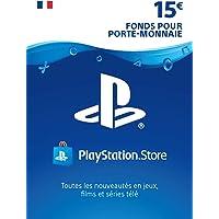 Carte PSN 15 EUR   Compte français   Code PSN à télécharger