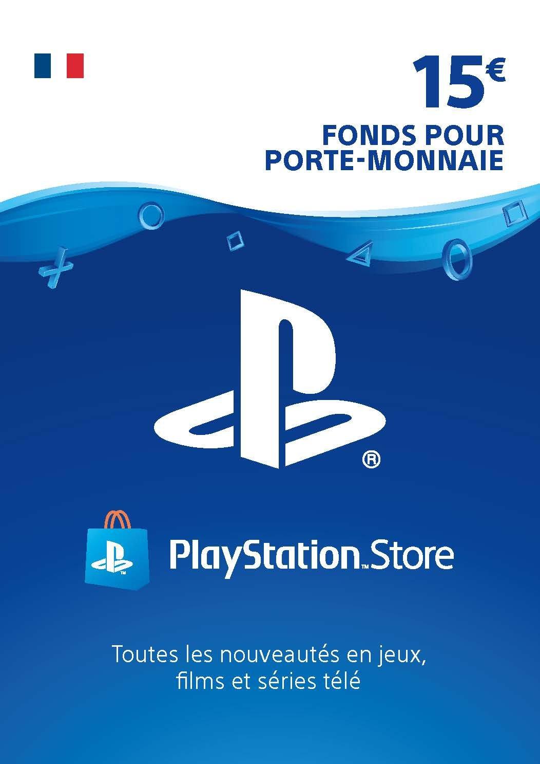 Carte PSN 15 EUR | Compte français | Code PSN à télécharger: Amazon.fr:  Jeux vidéo