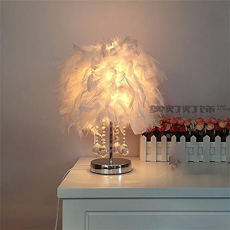 YU-K Elegante decoración del hogar Ideas lámpara de mesa ...