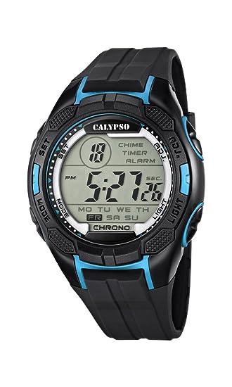 Calypso watches K5627/2 - Reloj de Pulsera Hombre, plástico, Color Negro: CALYPSO: Amazon.es: Relojes