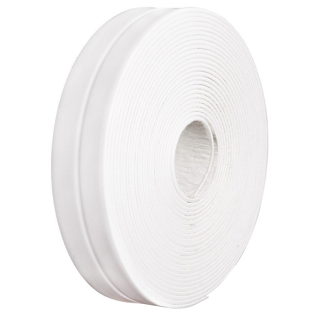 Bigtron 3.35  m Roll 22  mm wide White Tape  –   Waterproof Sealing Tape for Bathroom, Shower, Sink