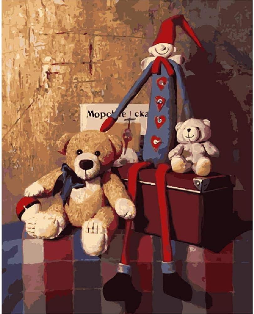 1000 Piezas Juguetes Para Niños Rompecabezas Para Adultos Oso Y Marioneta De Juguete De Madera Montaje Personalizado