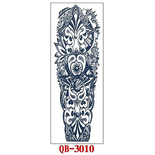 Handaxian 3 Unids Tatuaje Pegatinas Impermeable Brazo Completo ...