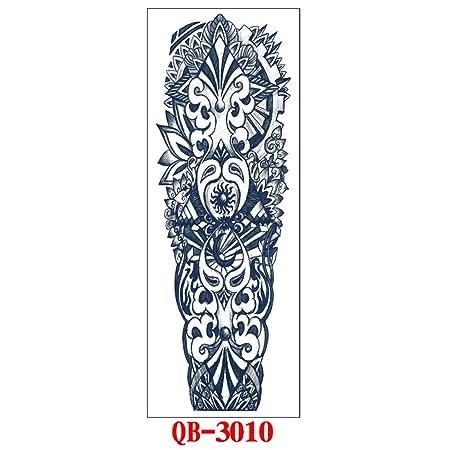 Handaxian Brazo Completo Impermeable Etiqueta engomada del Tatuaje ...