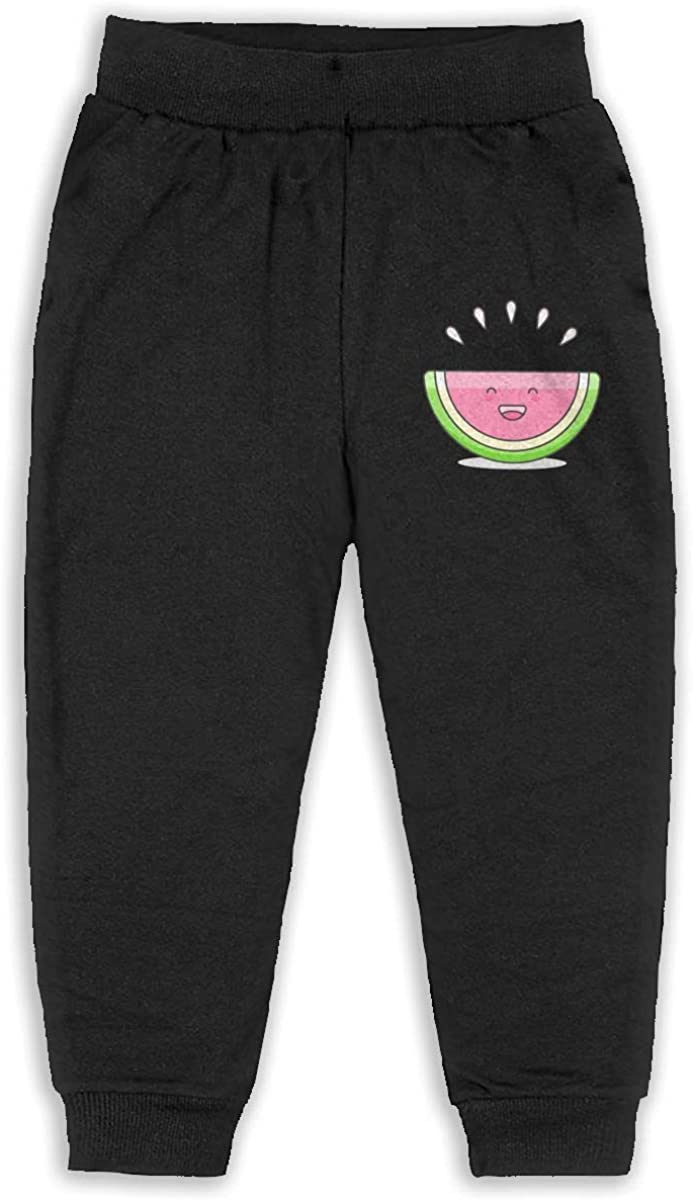 Child GHYNJUM Watermelon Unisex 2-6T Autumn and Winter Cotton Casual Trousers
