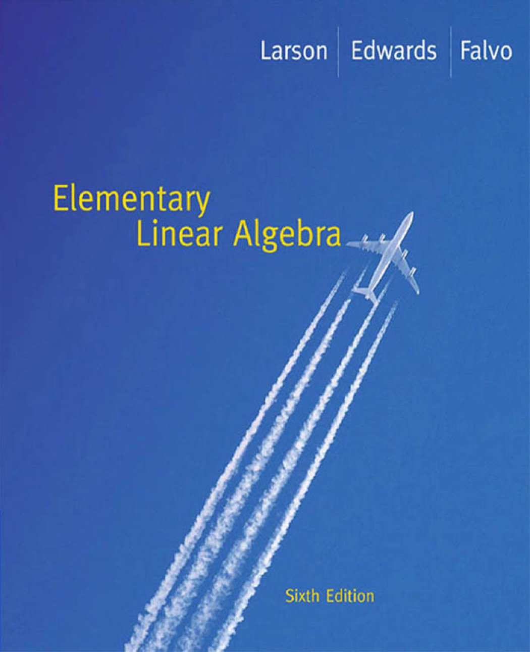 Elementary Linear Algebra: Ron; Falvo, David C. Larson: 9780547004815:  Amazon.com: Books