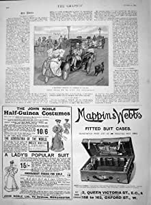 Moda de 1895 del Transporte Trajes de Mappin Webb John Noble