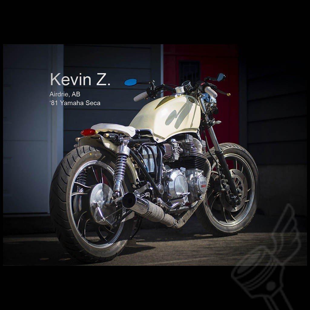 Universal 4'' Black Rotating Adjustable Long stem Aluminum Motorcycle Mirror by DCC Originals (Image #6)