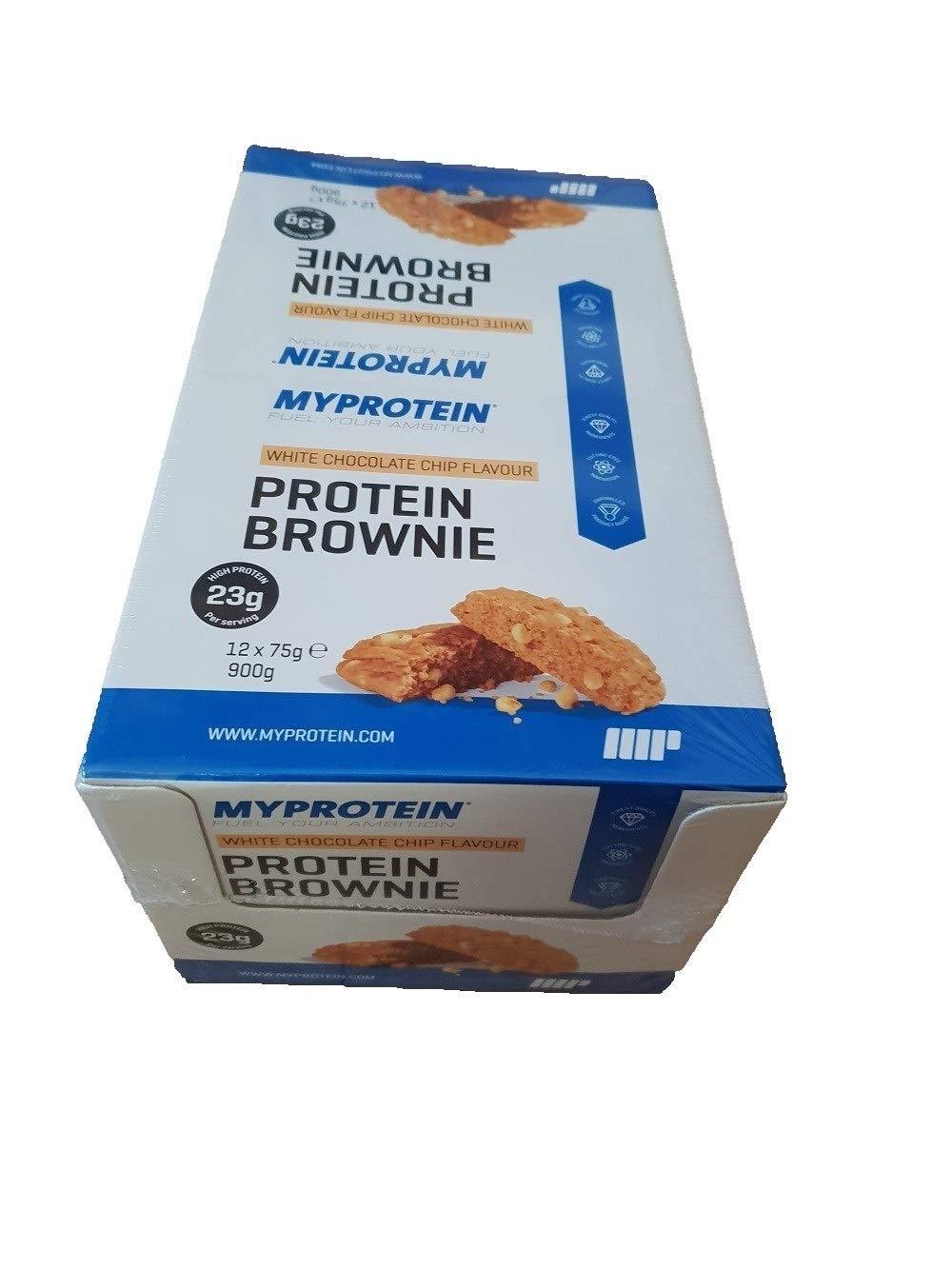 MyProtein Proteínas, Sabor Brownie - 12 Unidades: Amazon.es: Salud y cuidado personal