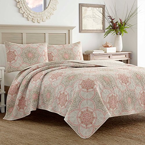Tommy bahama bedding sets ease bedding with style tommy bahama palm channel quilt set king orange gumiabroncs Gallery