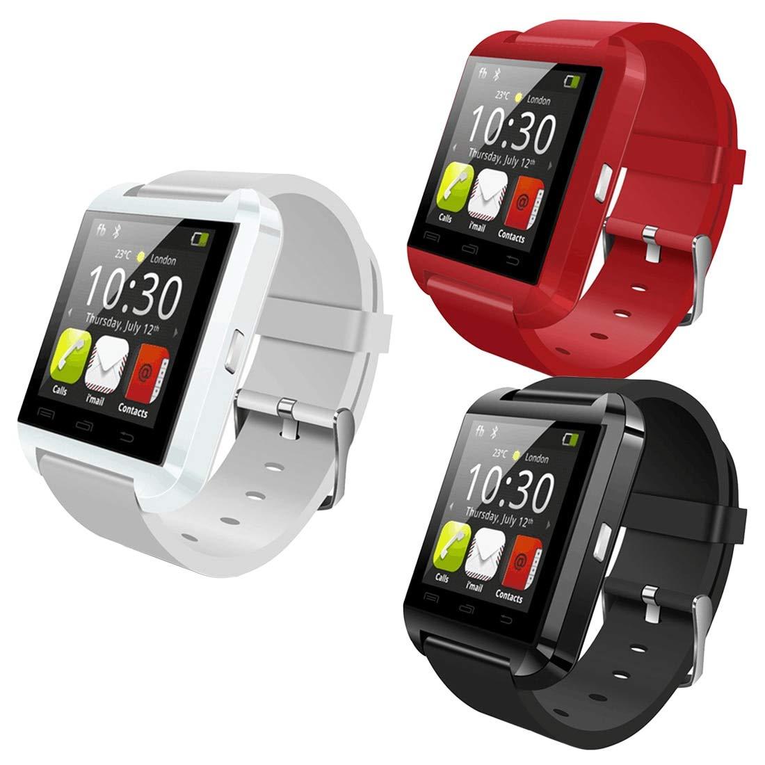 MRLIFY U80 Bluetooth Smart Watch con cámara, Reloj de ...