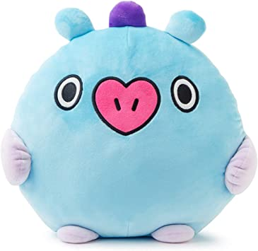 BT21 Official Merchandise by Line Friends - MANG Character Pong Pong Cushion 11.8 Inches