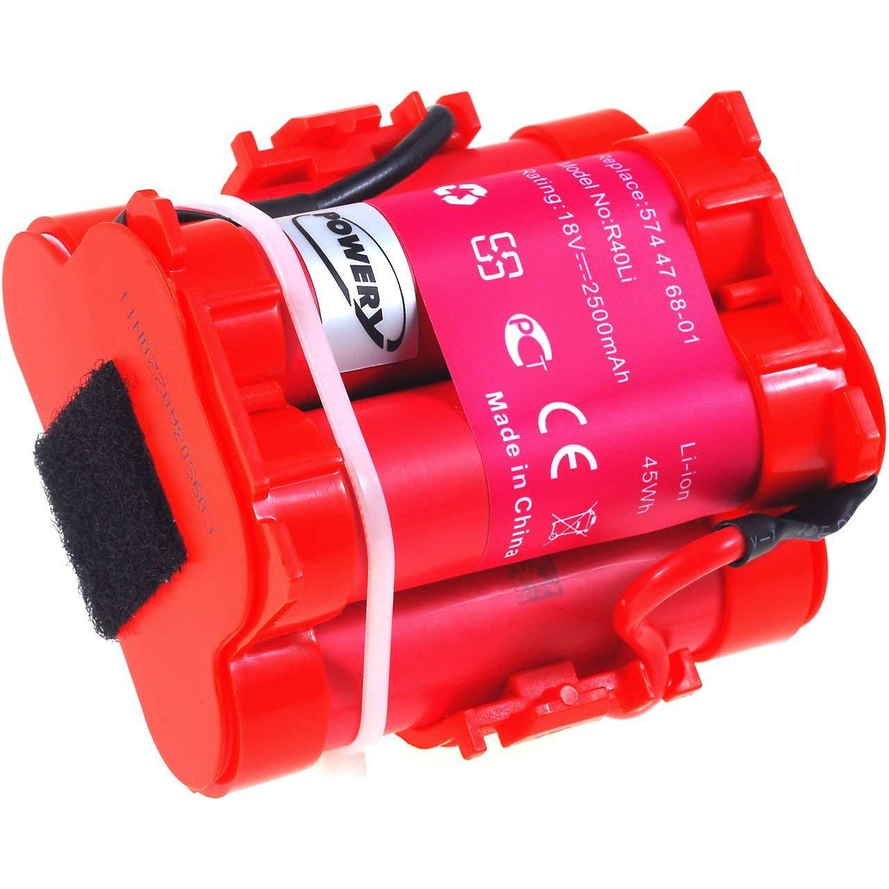 Batería de Alta Capacidad para Robot Cortacésped Husqvarna Automower 105