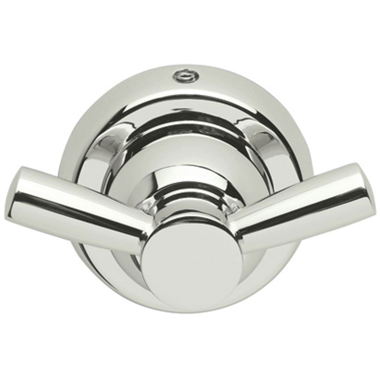 Rohl U.6422PN Perrin and Rowe Wall Mounted Double Robe Hook, Polished Nickel