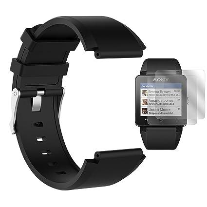 Amazon.com : TUSITA WristBand for Sony SW2 Smart Watch ...