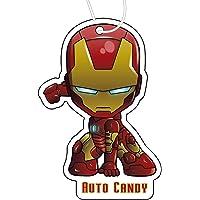Auto Candy Iron Man Car Air Freshener Cologne Fragrance
