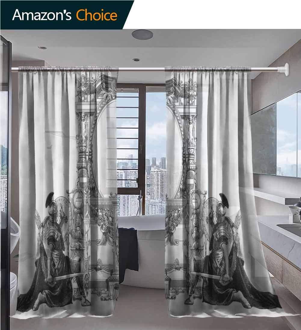 Amazon.com: Linen Sheer Curtain Large Window Decorating ...
