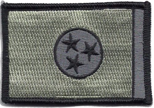 lag Patch (ACU-Foliage (Black & Silver)) ()