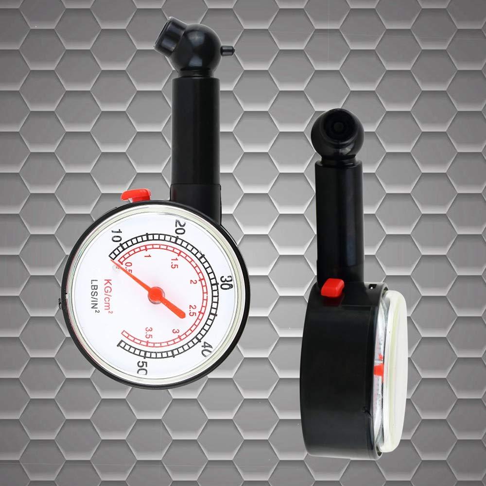 GAOHOU Car Vehicle Motorcycle Bicycle Dial Tire Gauge Meter Pressure Tyre Measure Dial Meter Vehicle Tester