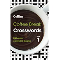 Coffee Break Crosswords book 1: 200 puzzles