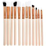 Fortan 7Pcs Set Berufsbürstensatz Augen und Wangen Make-up