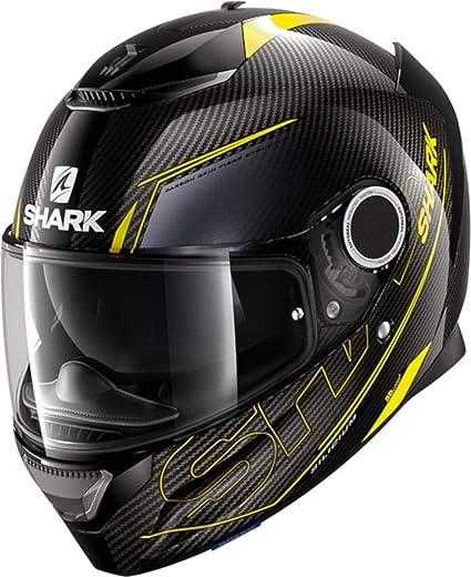 Amazon.es: Shark Casco Moto Spartan Carbon 1.2 silicio Dya, Negro ...