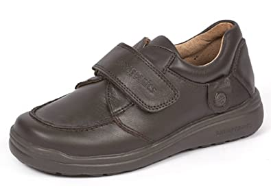 nuevo producto 7cb32 73ac1 Garvalin Boys Biomecanics 131130 Leather School Shoes in Black and Brown B  41