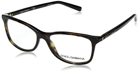 714dda62a44a4d Dolce   Gabbana Eyeglasses DG3222 502 Havana 52 15 140  Amazon.ca ...